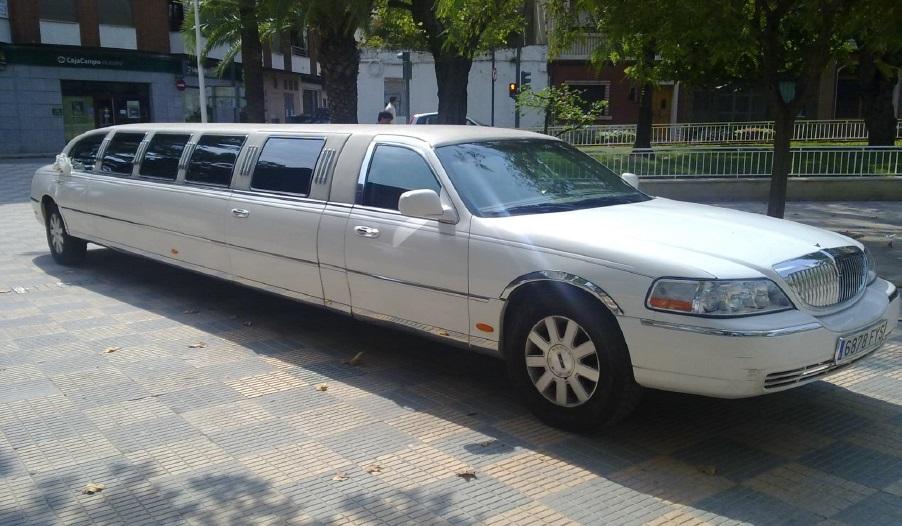 Limusina Lincoln 6 alquiler coches de boda madrid marbella ibiza barcelona valencia