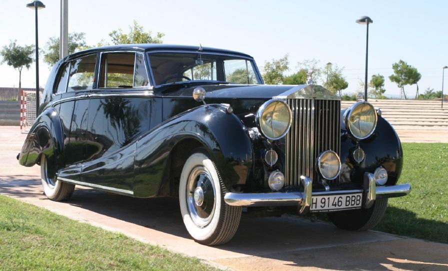 Rolls Royce 47 alquiler coches de boda madrid marbella ibiza barcelona valencia