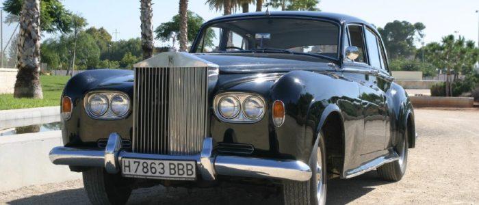 Rolls Royce 65 alquiler coches de boda madrid marbella ibiza barcelona valencia