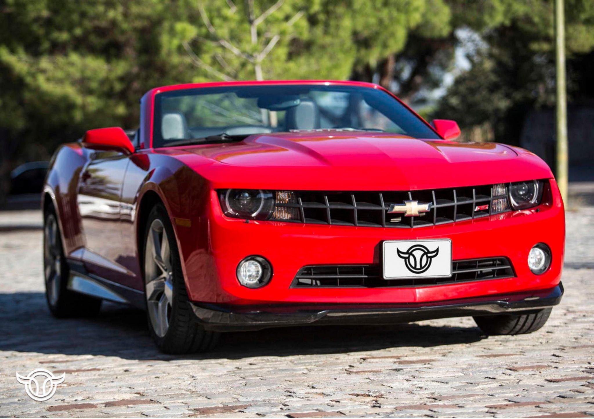 Chevrolet Camaro alquilar coches de lujo madrid marbella ibiza barcelona valencia