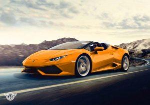 Lamborghini Huracán Spider alquilar