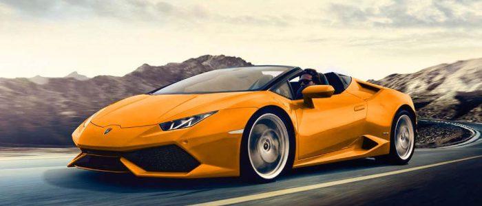Lamborghini Huracán Spider alquilar coches de lujo madrid marbella ibiza barcelona valencia