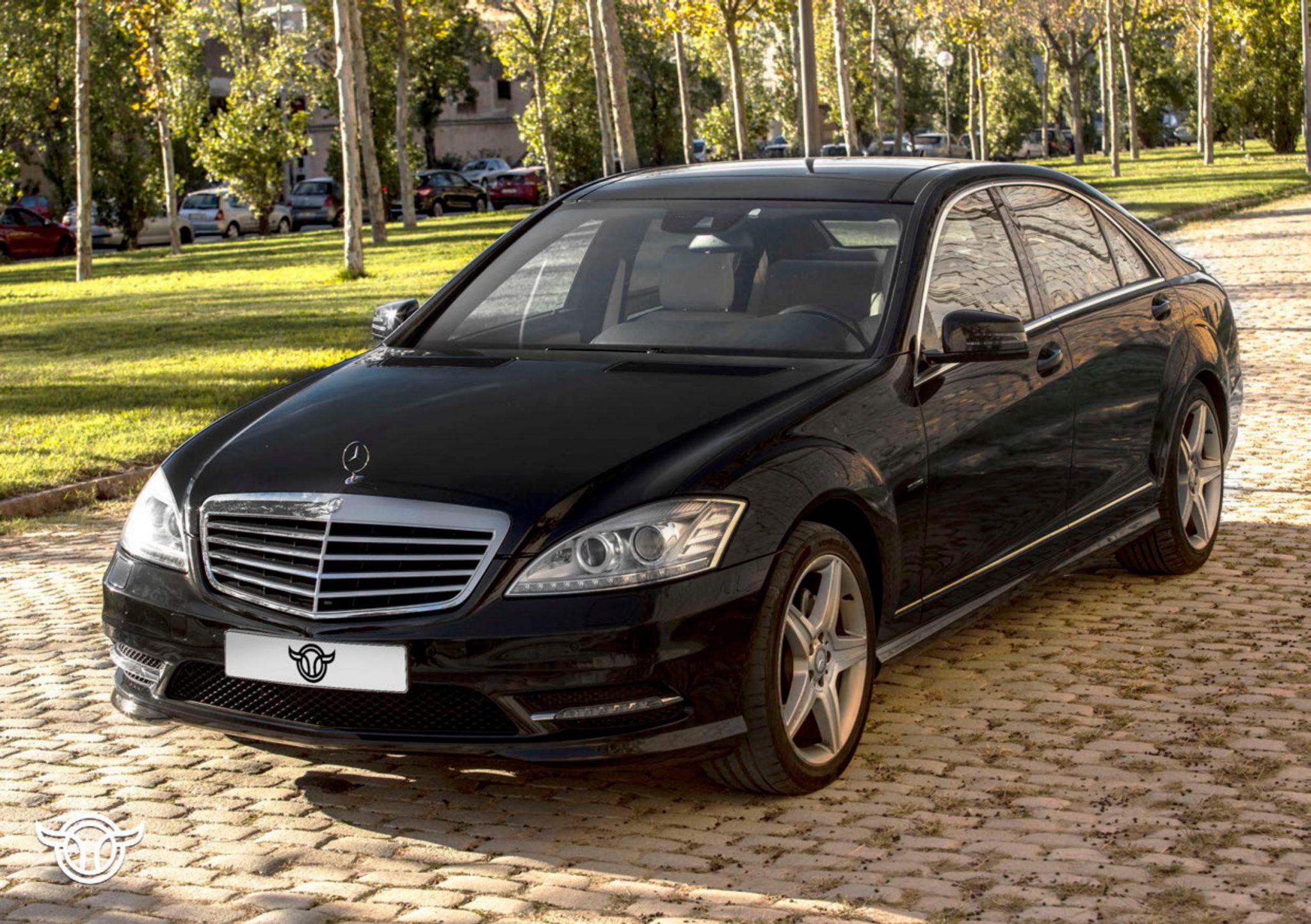 Mercedes S 500 largo alquilar coches de lujo madrid marbella ibiza barcelona valencia