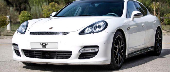 Porsche Panamera Turbo alquiler coches de lujo madrid marbella ibiza barcelona valencia