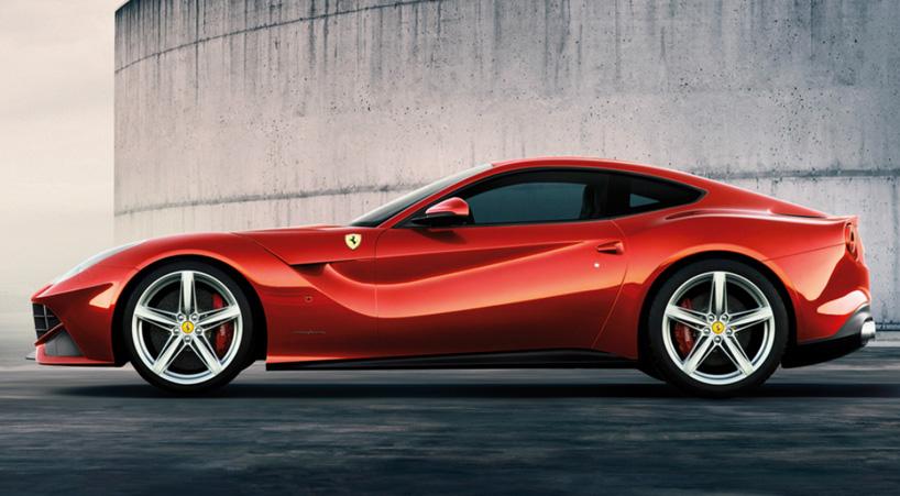 Ferrari F12 Berlinetta alquiler coches de lujo madrid marbella ibiza barcelona valencia