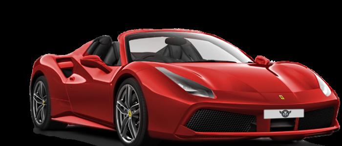 Ferrari 488 Spider alquiler coches de lujo madrid marbella ibiza barcelona valencia