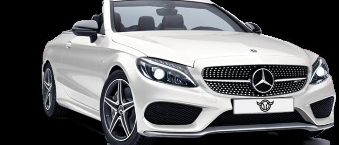 Mercedes C43 Cabrio alquiler coches de lujo madrid marbella ibiza barcelona valencia