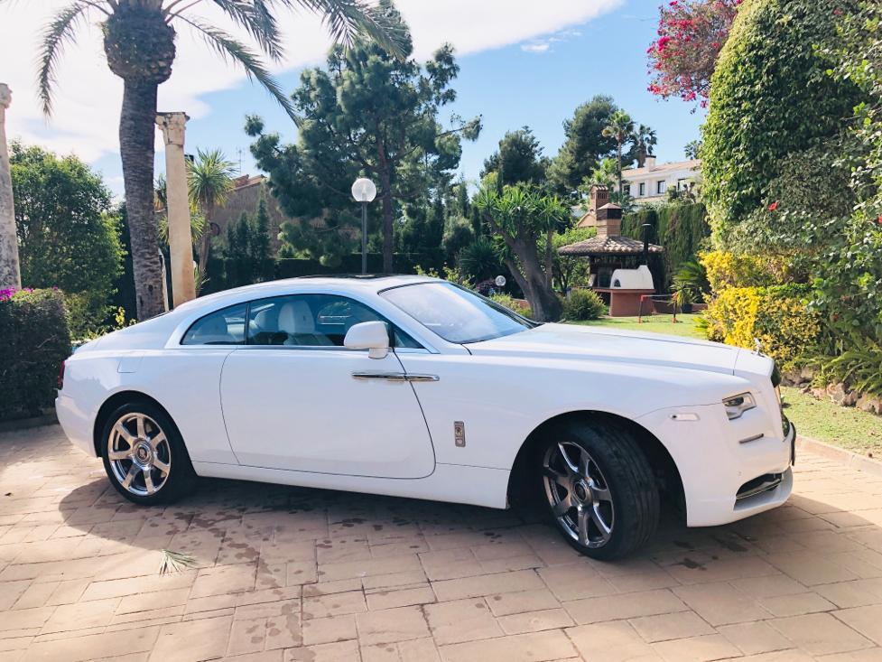 Alquilar Rolls Royce Phantom